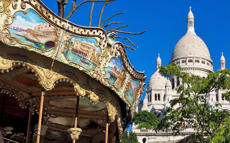 Montmartre and Sacre Coeur Tour